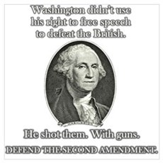 Washington Used Guns Framed Print